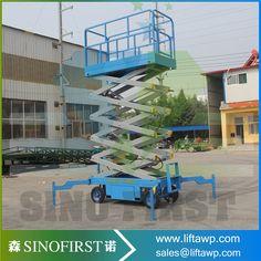 8m Lifting Equipment/Self-Propelled Electric Scissor Lift #Affiliate