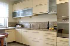 #Kitchen Idea of the Day: Modern Cream-Colored Kitchens.
