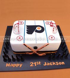 phila flyers hockey birthday cake - Google Search