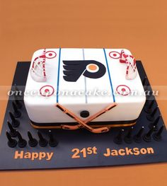 Ice Hockey Cake Decorations Uk : Montreal Canadiens Jersey Cake Cakes We Made ...