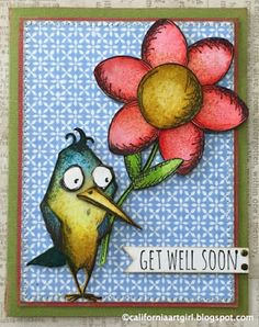 "Richele Christensen: More ""Bird Crazy"" to love... Sheldon ... using Tim Holtz, Ranger, Idea-ology, Sizzix and Stamper's Anonymous products; July 2015"