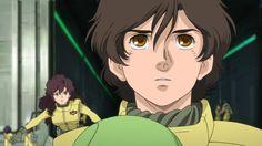 第1話「96年目の出発(たびだち)」機動戦士ガンダムユニコーン RE:0096 Unicorn Gundam, Mobile Suit, Robot, Animation, Manga, Retro, Anime Stuff, Destiny, David