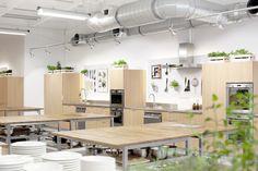 Food Lab Studio - Multifuncional space in Warsaw! #cooking #design #Lange #vespa #cook #kitchen #event #warsaw #kitchen