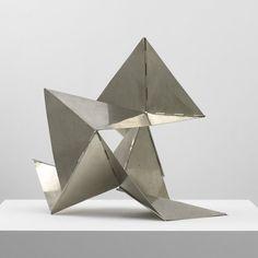 Bicho (Creature), 1960 by Lygia Clark Steel Sculpture, Modern Sculpture, Abstract Sculpture, Sculpture Art, Geometric Sculpture, Origami Shapes, Design Museum, Miniature Furniture, Textile Artists