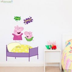 Find This Pin And More On Peppa Pig Bedroom. Our Official Peppa Pig Wall  Stickers ... Part 69