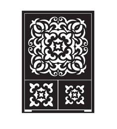 Schablonen - Schablone selbstklebend Kachel, Schablone DIN A5 - ein Designerstück von Maschen-Werk bei DaWanda