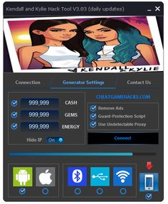 Kendall and Kylie Hack Kendall And Kylie Game Hack and Cheats Kendall and Kylie Game Hack online How to get K-Gems, Followers, and Energy in Kendall and Kylie … Kendall and Kylie asset Online Generator – Get Unlimited Cash, Unlimited K-Gems. – Gain leverage inside the diversion. – Regular script refreshes. – Tested and imperceptible. …