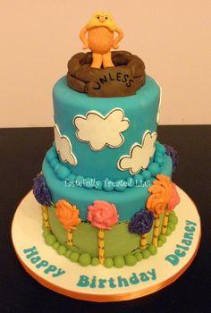 Lorax cake.. Amazing. I want one.