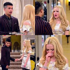 This is the worst disney break up.Holden and Liv are crying. Disney Channel Shows, Disney Shows, Liv Rooney, Victoria Moroles, Cameron Boyce, Lizzie Mcguire, Girl Meets World, Great Tv Shows, Actors & Actresses