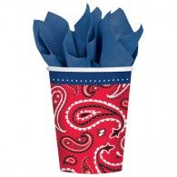 Bandana and Blue Jeans Cups (8pk) $7.95 A581278