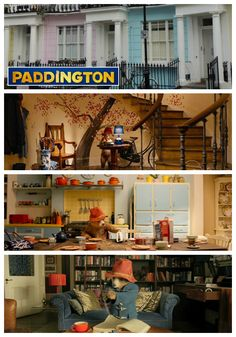 A look at the sets created for the movie Paddington in London | hookedonhouses.net