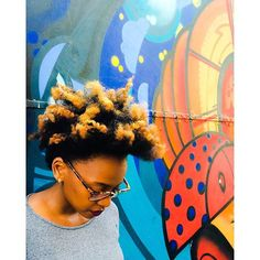 4c hair!!! When the GRAFFITI and I become ONE ➰➰<<4DD Hair>> Color Pop.