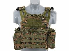 Jump Plate Carrier with dummy SAPI Plates, Pouch Set - MARPAT...