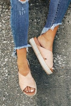 The Becca Espadrille in Iced Latte - Stitch fix -You can find Summer shoes and more on our website.The Becca Espadrille in Iced Latte - Stitch fix - Sneakers Mode, Sneakers Fashion, Fashion Shoes, Emo Fashion, Fashion Clothes, Fashion Women, Fashion Tips, Stitch Fix, Crazy Shoes