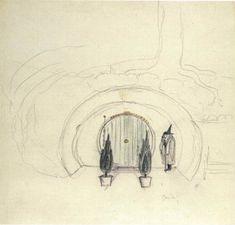Happy Birthday, J.R.R. Tolkien: The Iconic Storyteller's Little-Known, Gorgeous Art   Brain Pickings