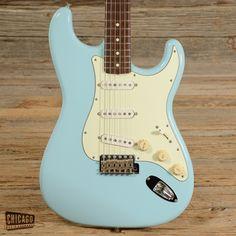 Fender '62 Reissue Stratocaster Sonic Blue MIJ 1995 (s751)