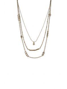 Set de 3 colliers fins dorés | Bala Boosté
