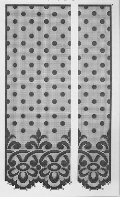 Crochet Curtains, Lace Curtains, Crochet Doilies, Filet Crochet, Filets, Crochet Crafts, Tatting, Projects To Try, Kids Rugs