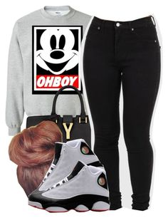 """""""Untitled #1612"""" by ayline-somindless4rayray ❤ liked on Polyvore featuring Humör and Yves Saint Laurent"""