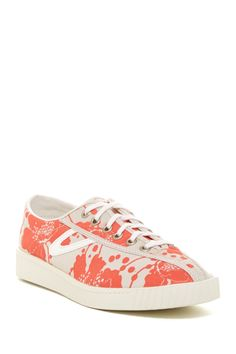 Nylite Spotted Floral Lace-Up Shoe by Tretorn on @HauteLook