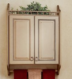 Like The Towel Bar Under Cabinet Instead Of On The Wall