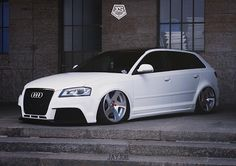 Audi A3 8P Sportback lowered
