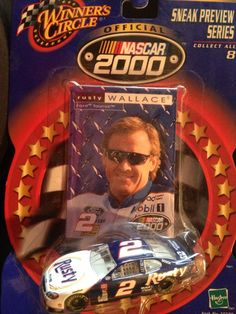 NASCAR Winner's Circle Rusty Wallace Sneak Preview Series 1:64 Die Cast 2000 #Hasbro #MonteCarlo