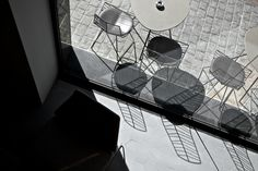 Waterbiscuit Restaurant. Terrace.  Photography ©briangrech.com