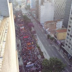 [Global Voices] Another Day, Another Violent Police Crackdown Against Protesters in Brazil -- 2º Grande Ato Contra a Tarifa (16/01/2015)