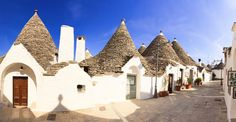 Unesco World Heritage Site Alberobello resembles an urban sprawl – for gnomes. The Zona dei Trulli on the western hill of town is a dense mass of...