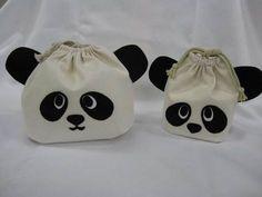 簡単!親子パンダの巾着袋の作り方|ソーイング|編み物・手芸・ソーイング|ハンドメイド | アトリエ