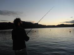Fishing off the jetty @KingfishLodgeNZ