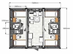 Container home floor plan #containerhome #floorplans
