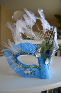 Sky Fairy Mask by SionStudios on Etsy, $20.00