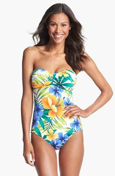 Tommy Bahama 'Happy' One Piece Swimsuit | Nordstrom
