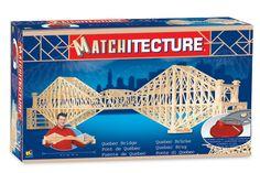 Online Marketplace at eBid United Kingdom : Free to Bid Quebec, Matchstick Craft, Cantilever Bridge, Woodcraft Construction Kit, Bridge Model, Metal Model Kits, Model Building Kits, Puzzle Toys, Wooden Art