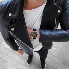 I'm currently obsessed with #leather jackets  by themercerman
