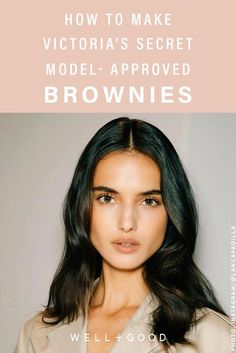 How Blanca Padilla cures her sugar cravings Low Sugar Brownies Recipe, Healthy Brownies, Brownie Recipes, Raspberry Smoothie, Apple Smoothies, Gourmet Recipes, Healthy Recipes, Healthy Desserts, Fall Recipes