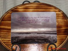 God will make a way by Craftalizing on Etsy