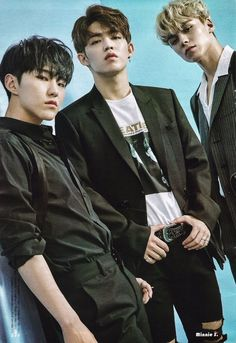 Hoshi, S.Coups, and Vernon