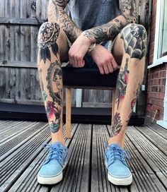 Mens Leg #Tattoos Collection Of Designs