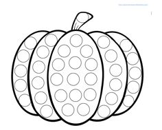 Do-a-Dot-Pumpkin-worksheet-printable.png Do-a-Dot-Pumpkin-worksheet-printable.png Do-a-Dot-Pumpkin-worksheet-printable. Halloween Crafts For Toddlers, Halloween Activities, Fall Preschool, Preschool Crafts, Dot To Dot Printables, Pumpkin Printable, Theme Halloween, October Crafts, Do A Dot
