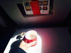 Airplane tea times