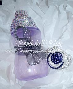 Bombshell Bling Baby Sippy Cups by BlingBombshell on Etsy, $65.00