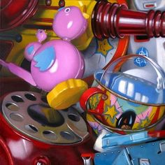 M Collier | OIL | Finds #1 - Toys