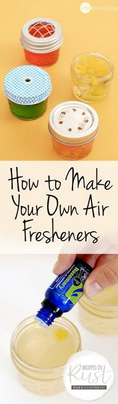 DIY Air Freshener, DIY Air Fresheners, DIY Home, Smell Hacks, How to Make Your Home Smell Good, Cleaning Projects, Cleaning Hacks, Homemade Cleaning Products #homecleaninghacks
