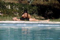 Romy Schneider & Alain Delon in La Piscine (1969) by Jacques Deray