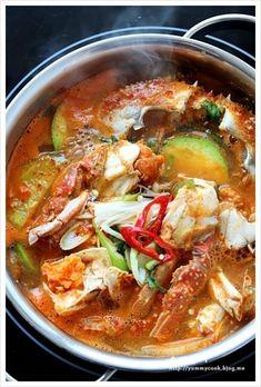 K Food, Good Food, Yummy Food, Korean Dishes, Korean Food, Asian Recipes, Healthy Recipes, Ethnic Recipes, Soups And Stews