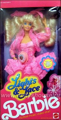 Barbie Lights and Lace