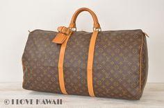 Louis Vuitton Monogram Keepall 60 Malletier Travel Bag M41422